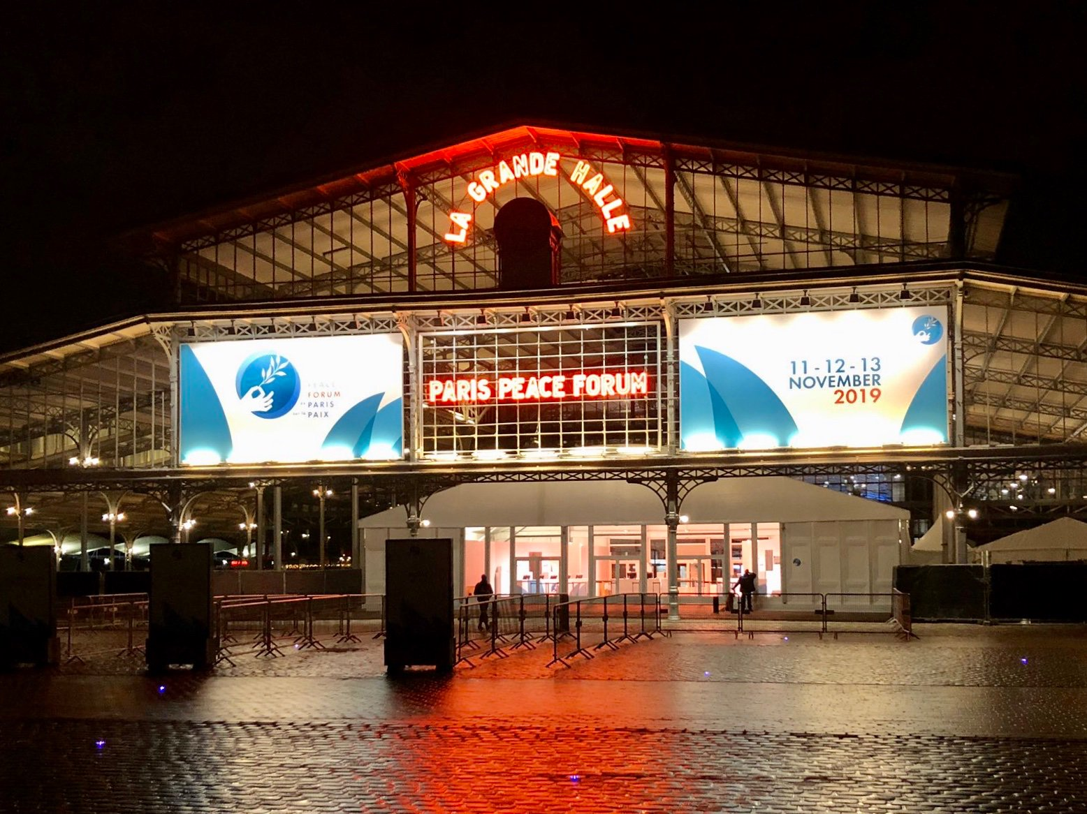 Paris Peace Forum - La Grande Halle, Paris
