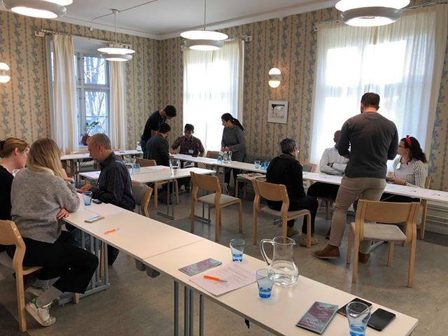 Second Co-Creation Workshop in Botkyrka, Sweden